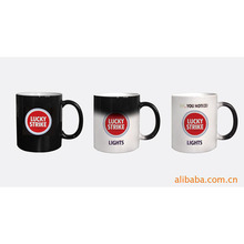 Wholesale Color Change Sublimation Ceramic Coffee Magic Mug for Love Handle