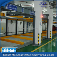 Minshan machanical car easy parking system/stereo garage