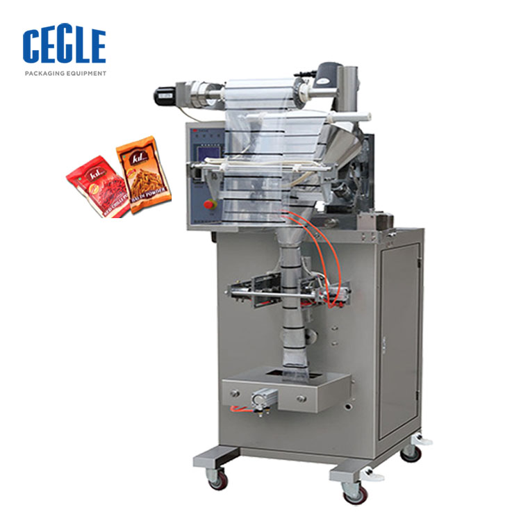 Automatic Low cost India Spice/Chilli /Pepper/Curry Powder/Spices powder pouch packing machine
