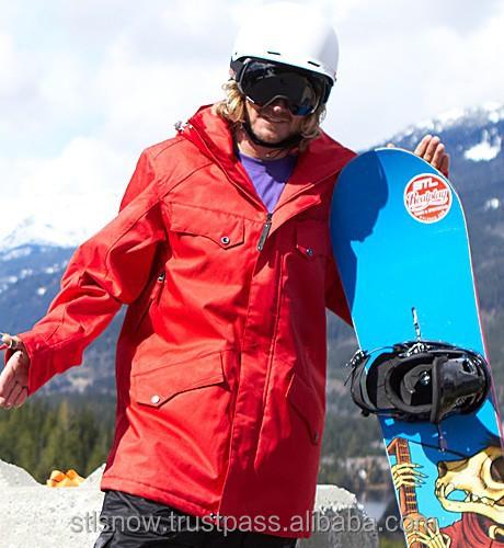2014/2015 High quality waterproof 20000mm snowboard jacket, STL Beat WineRed