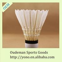 Wholesale outdoor duck feather middle broad shuttle cock