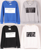 China factory wholesale crewneck sweatshirt