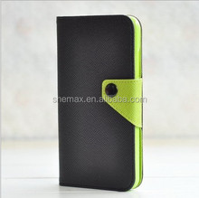 New Magnetic Wallet ID Card Cover for Blackberry Z10 Leather Flip Case