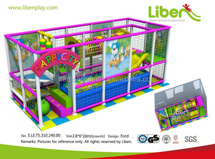 Best selling large size 2016 kids kids indoor playground for sale