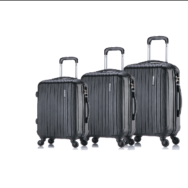 20/ 24 28 3-Piece ABS Material Universal Wheels 4 Luggage Travel Set