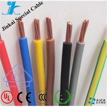 300V/500V PVC Flexible House wiring electrical cable Twin and earth 0.5m2 electric wire