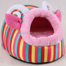 Cute Soft Fleece Warm Washable Cushion Mat Dog Puppy Cat Pet Basket Bed House KA1956