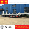 lowest price 3 axles lowbed semi trailer