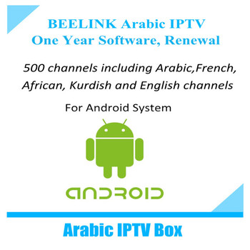 1 Year Manual User Beelink Arabic Iptv