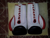 Leather Professional Boxing Gloves/ Kick Boxing gloves/cowhide leather boxing gloves