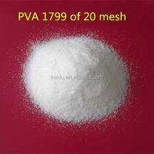 polyvinyl alcohol 1799(098-27) of 20 mesh