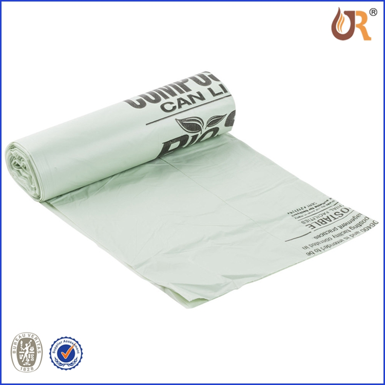 eco friendly custom printed plastic bag in roll dog waste bag