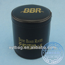 PU leather personalized dice cup