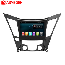 For 2013 Hyundai sonata 10.2inch Car GPS Navigation Android Player With Quad With DAB+ Mirror Link Radio Play Store Google