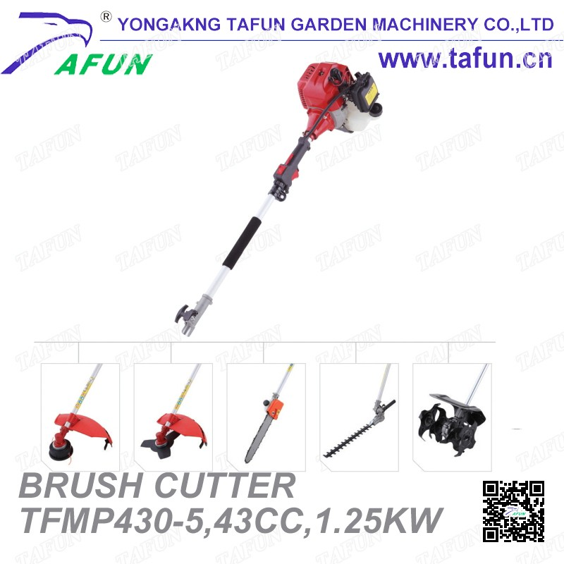 "Gasoline powered garden tools long pole telescopice chain saw/chainsaw with 10"" and 12"" guide bar for cutting tree"