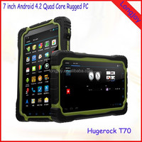 Factory 7 Inch IPS Screen Rugged Tablet PC MTK6589 Quad Core 1GB RAM 8GB ROM With Built-in GPS