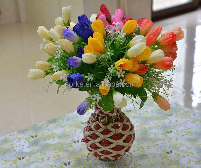 artificial flower bouquet for wedding decoration