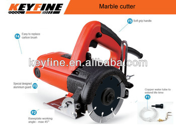 KEYFINE Professional 1200W cutting machine with 110mm marble cutter