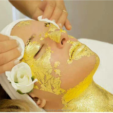 24k facial use gold leaf gold leaf mask
