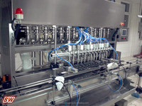 factory price condiments sauce bottle/jar filling capping machine