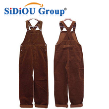 Mens Workwear Corduroy Heated Coveralls