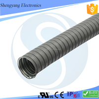 "Large Diameter 3/4 ""(DN20)Stainless Steel Metal Corrugated PVC Plastic Coated Hose"
