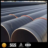 Construction materials 3pe anti corrosion pipe/SSAW Spiral steel pipe/polyethylene pipe