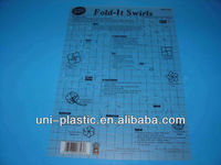 Plastic Stencils and templates