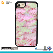 Transparent mobile phone case for iphone 7 case seashell phone case