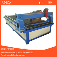 Automatic metal cutter cnc plasma cutting machine with blade table KR-1325