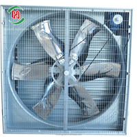 Huasheng Manufacture High Performance Wall Mounted Exhaust Fan 220V/380V for Poultry/Greenhouses/Industry/Cooling