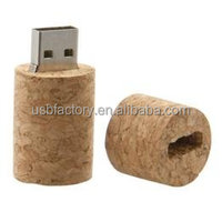 4GB Wine Bottle Stopper Wood Cork USB flash memory Card usb flash drive