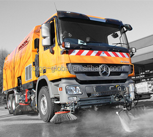 Superstructure of Germany BROCK Road Sweeper, cleaning truck VS12 for sales
