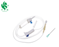 sterile disposable infusion set with needle,luer lock