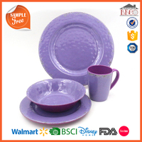 China Supplier Wholesale Plastic Melamine HD Designs Dinnerware Sets