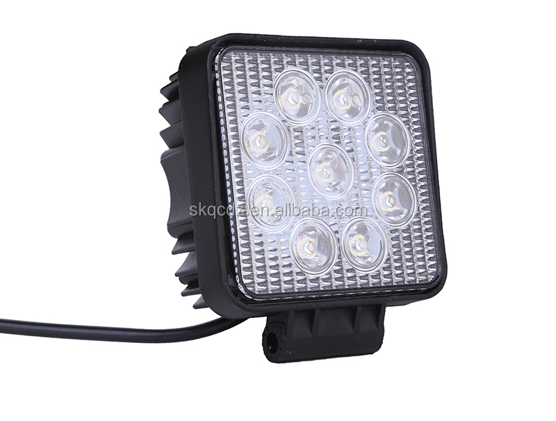 27W LED Work Flood Square Light Bar DC 9V-32V Offroad Truck 4x4 Boat Lamp (SK-WL-A7)