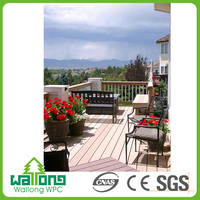 Nice design popular sales moisture proof wpc waterproof outdoor floor covering