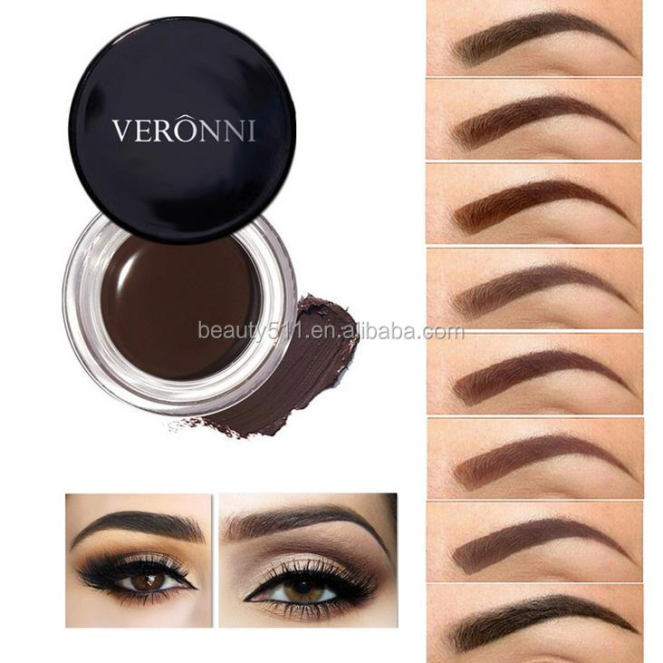 OEM 8colors Lasting No take off Nourish Toning Eyebrow Decoration Dyed eyebrow paste