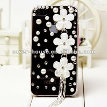 3D Bling Flower Case for iphone 4/ 4s