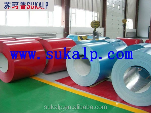 High Quality Color Coated Galvanized Steel Coil