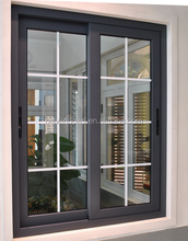 AS2047/AS1288 Aluminium Frame Double Glazed Sliding Glass Window With Mosquito Net