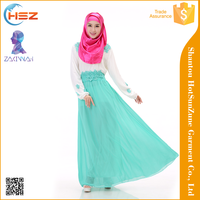 Zakiyyah 536006 Cover scarf women muslim dress dubai elegant abaya fashion 2016 turkish abaya moden baju kurung 2016