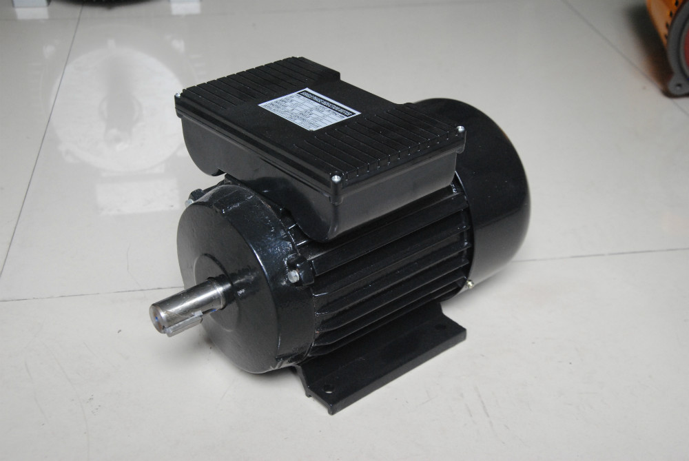 Cast Iron Frame Single Phase Electric AC Induction Motor