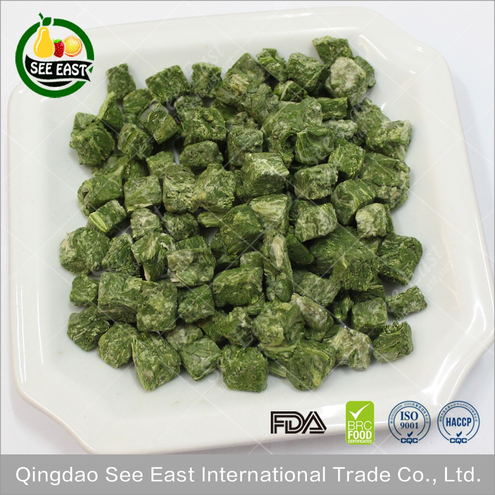 Wholesale alibaba lyophilized food Freeze Dried Spinach