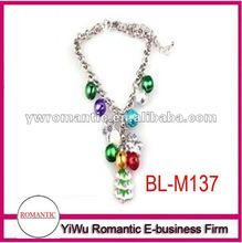 trend christmas gift 2012 christmas tree and bell bracelet
