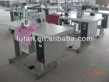 Manual ultrasonic non woven bag making machine