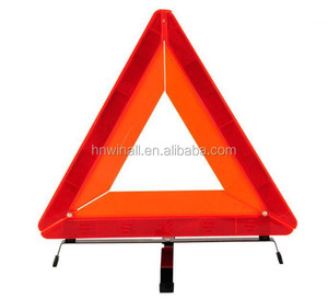 Emergency car parts triangle kit, auto accessories triangle warning light