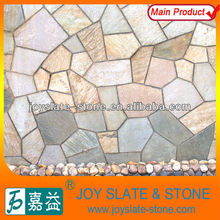 Natural slate random tiles decorative bricks