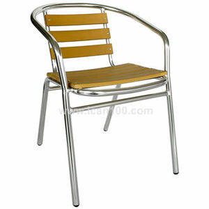 2016 new retro metal patio side chair of outdoor restaurant (PWC-302)