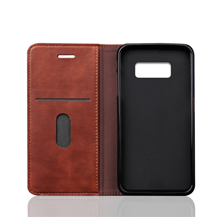 Premium Wallet Leather Case For Samsung Galaxy S8